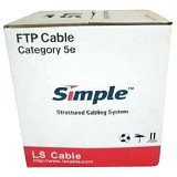 LS CABLE Cat 5E FTP [F05E004-XGY3] - Network Cable Ftp